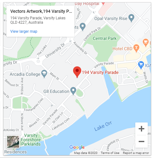 Vectors artwork office - Australia